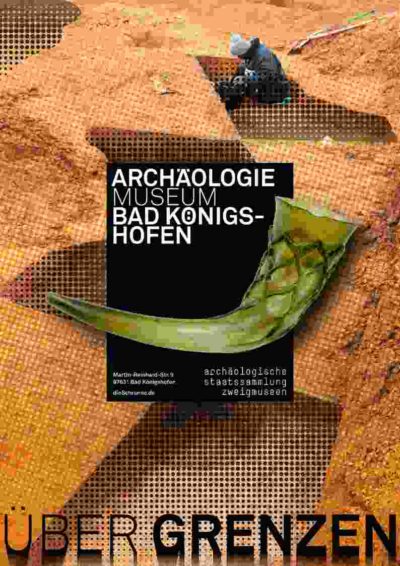 Museumsplakat Archäologiemuseum Bad Königshofen